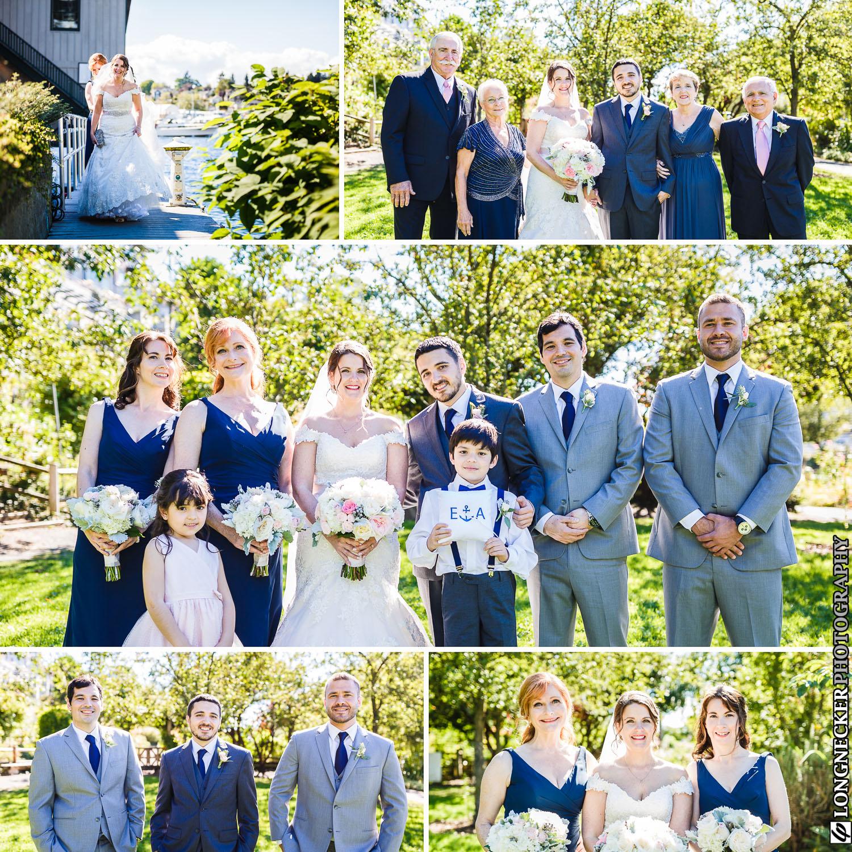 Lake Union wedding