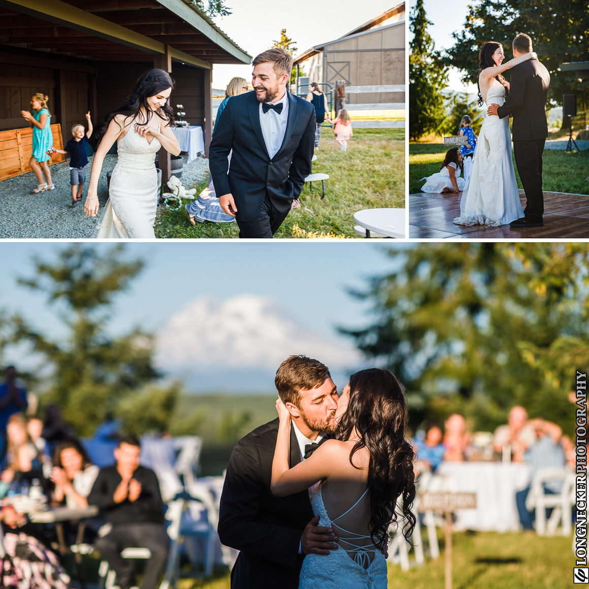 Mount Rainier wedding