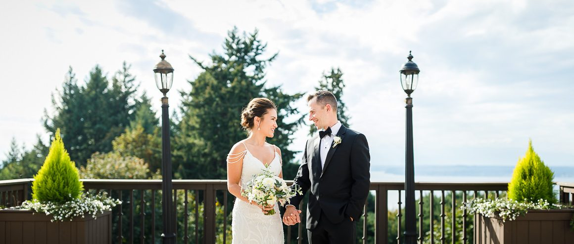 Shoreline wedding