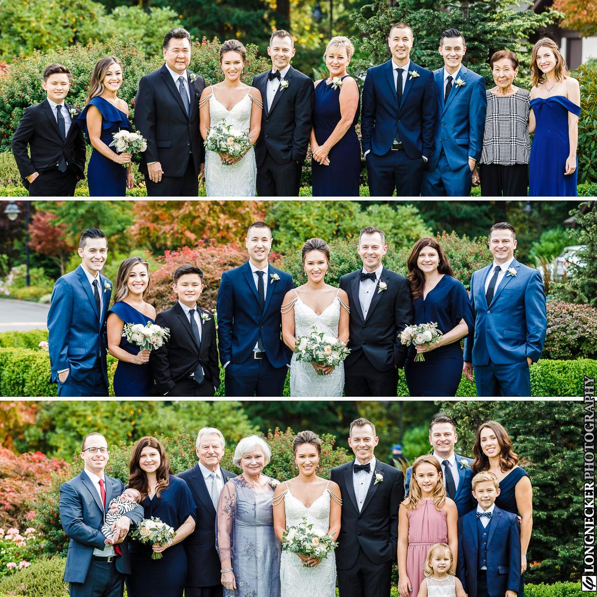 Shoreline wedding